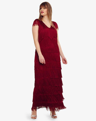 Phase Eight Esmerelda Fringe Maxi Dress