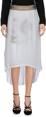 Manila Grace DENIM 3/4 length skirts