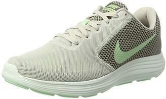 competitive price c56cd 6301f Nike Women s 819303 Low-Top Sneakers, Multicolour (Light Bone Fresh Mint