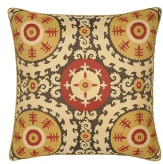 Suzani Indoor/Outdoor Accent Pillow