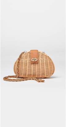 J.Mclaughlin Melody Wicker Crossbody Bag