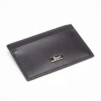 Royce Leather Royce Saffiano Leather Slim Card Case Wallet