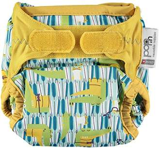 Pop-in Single Printed V2 Bamboo Nappy, Charles and Erin