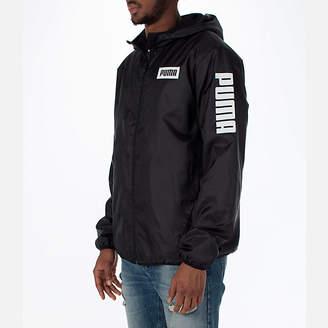 Puma Men's Rebel Windbreaker Jacket