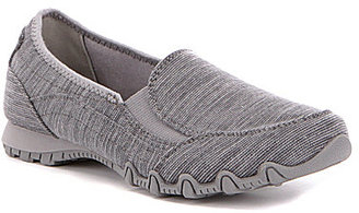 Skechers Bikers-Lounger Textured Knit Slip-Ons $54.99 thestylecure.com