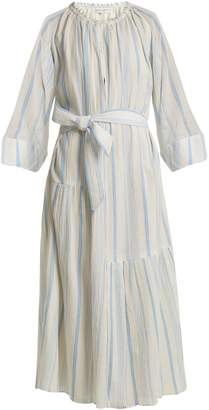 Apiece Apart Stella striped cotton dress