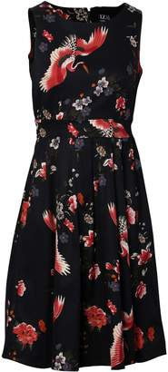 Izabel London Floral Print Midi Dress