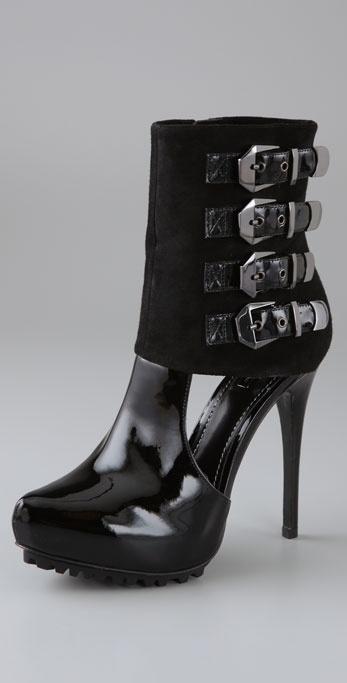 Report Signature Shoes Loring High Heel Booties