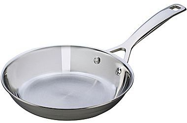 """Le Creuset 8"""" Tri-Ply Stainless Steel Fry Pan"""