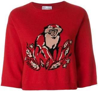 RED Valentino monkey print sweatshirt