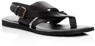 Kenneth Cole Men's Reel-Ist Leather Thong Sandals