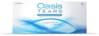 Oasis TEARS Lubricant Eye Drops, One 30 Count Box Sterile Disposable Containers $30 thestylecure.com