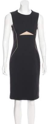 J. Mendel Knee Length Sheath Dress