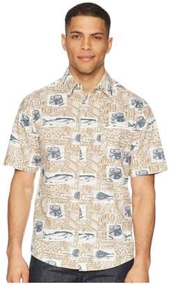 Woolrich Classic Fit Eco Rich Walnut Springs Shirt Men's Short Sleeve Button Up