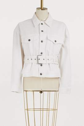 Proenza Schouler Belted denim jacket
