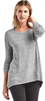 Softspun knit hi-lo top $44.95 thestylecure.com