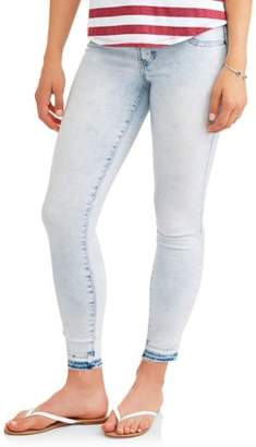 No Boundaries Juniors' High-Rise Triple Stacked Waist Skinny Jeans