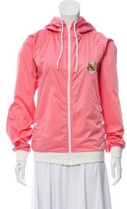 MAISON KITSUNÉ Hooded Lightweight Jacket