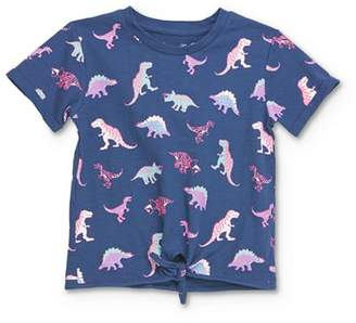 Sovereign Code Girls' Ginger Dinosaur Print Tee - Little Kid