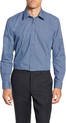 Ted Baker Slavla Slim Fit Geometric Dress Shirt