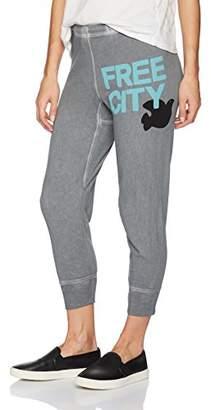 Freecity Women's 3/4 Cropped Sweatpant