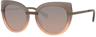 MARC by Marc Jacobs Acetate Cat-Eye Sunglasses $170 thestylecure.com