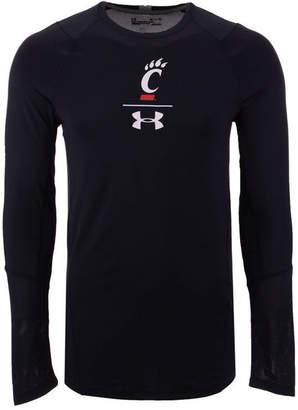 Under Armour Men's Cincinnati Bearcats Long Sleeve Raid Training T-Shirt