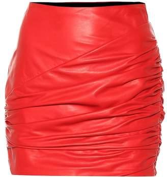 Versace Leather miniskirt