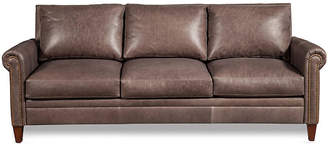 "One Kings Lane Walter 87"" Leather Sofa"