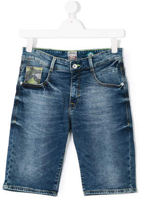 Vingino Teen distressed denim shorts