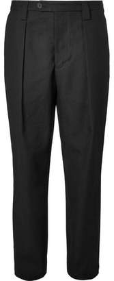 Acne Studios Airan Pleated Cotton Trousers