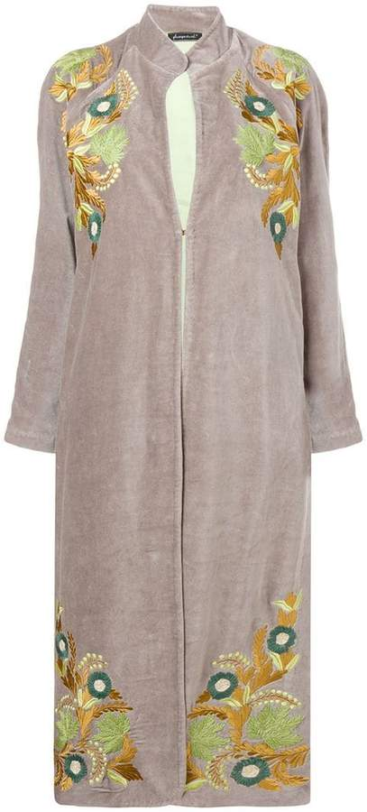 Phisique Du Role embroidered terry jacket