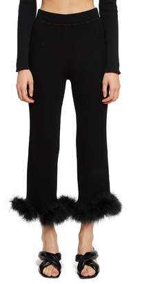 Opening Ceremony Faux Fur Culottes