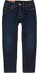 Acne Studios Kids' Bear Straight Jeans-Blue