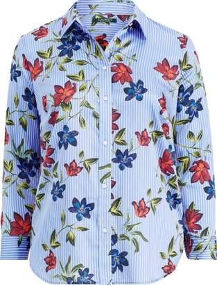 Ralph Lauren Floral Cotton Sateen Shirt