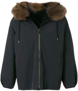 Liska fur collar jacket