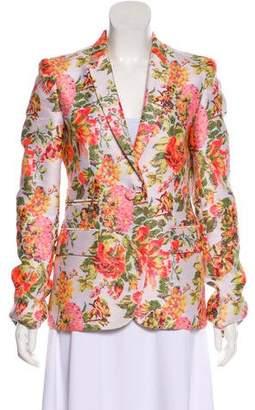 Stella McCartney Metallic Floral Blazer