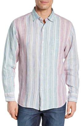 Tommy Bahama Vair Stripe Linen Shirt