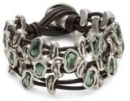 Uno de 50 Sweet Danger Leather Strands Bracelet
