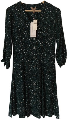 Anthropologie Green Cotton Dress for Women