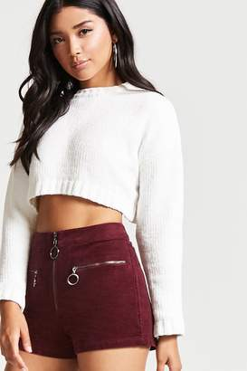 Forever 21 Contemporary Corduroy Shorts