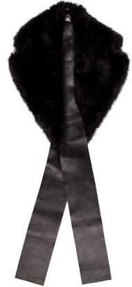 Calvin Klein Collection Faux Fur Stole