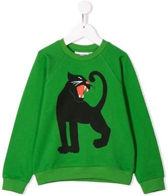 Mini Rodini panther print sweatshirt