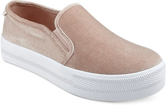 G by Guess Citti Platform Slip-On Sneakers Women's Shoes $59 thestylecure.com
