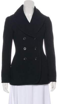 Burberry Wool Long Sleeve Jacket