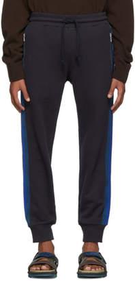 Dries Van Noten Navy Hastley Lounge Pants