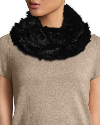Elie Tahari Chelsea Fur Cowl Infinity Scarf