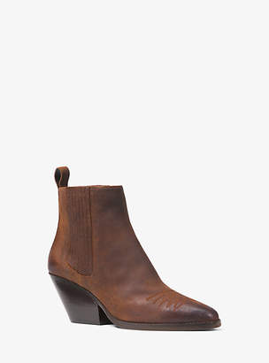 Michael Kors Sinclair Suede Ankle Boot