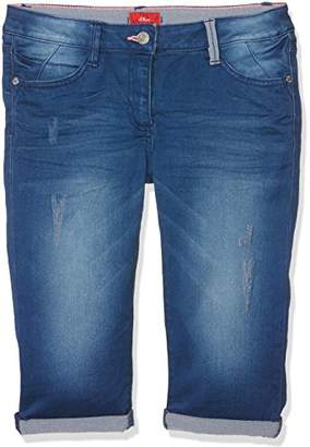 S'Oliver Girl's 66.703.72.5377 Trousers,(Big)