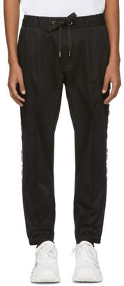 Dolce & Gabbana Black Drawstring Trousers